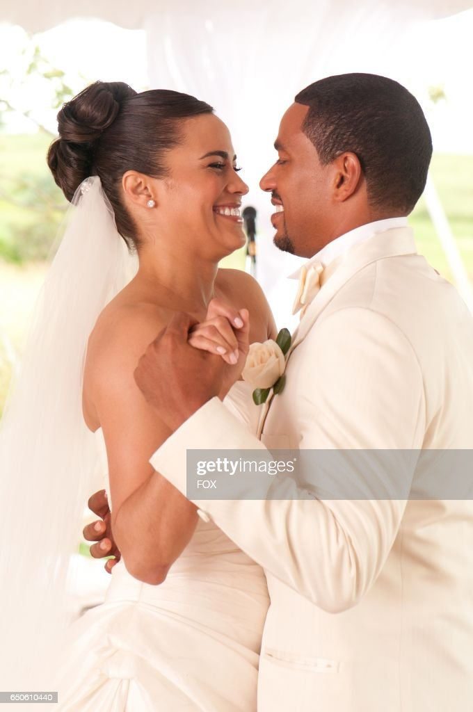 FOX Presents the network premiere of the feature film Jumping The Broom, airing Friday, May 13 (8:00-10:00 PM ET/PT) on FOX. Pictured: Sabrina (Paula Patton) and Jason (Laz Alonso).