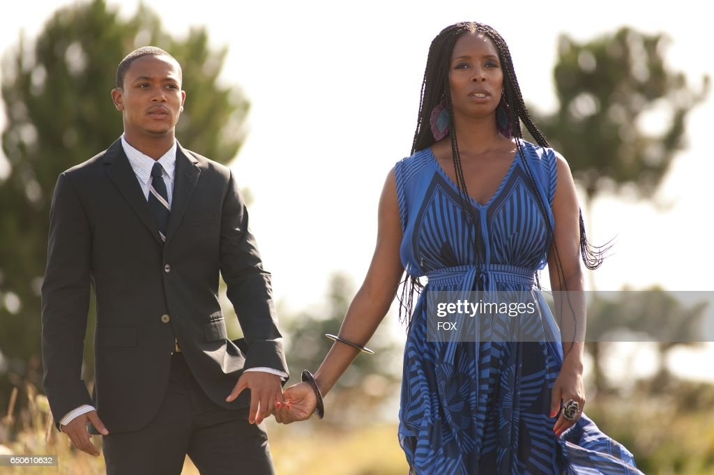 FOX Presents the network premiere of the feature film Jumping The Broom, airing Friday, May 13 (8:00-10:00 PM ET/PT) on FOX. Pictured: Sebastian (Romeo Miller) and Shonda (Tasha Smith).