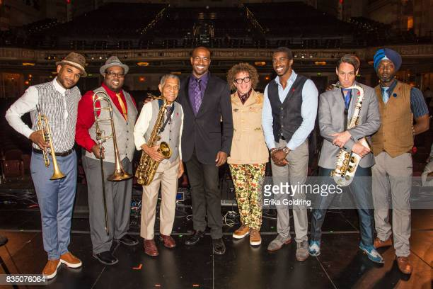 Preservation Hall Jazz Band's Branden Lewis Ronell Johnson Charlie Gabriel political activist Van Jones composer and musician Terence Blanchard...