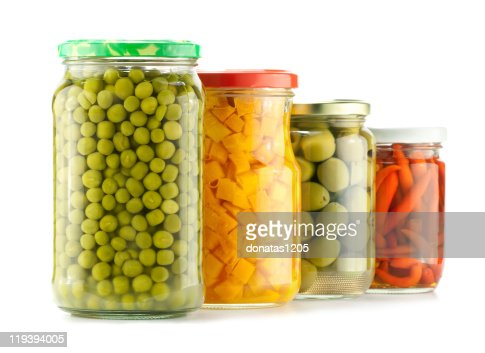 Preserved vegetables : Stock Photo