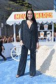PreShow host/recording artist Jessie J attends The 2015 MTV Movie Awards at Nokia Theatre LA Live on April 12 2015 in Los Angeles California