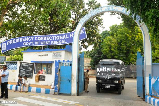 Presidency jail where former Calcutta High Court judge CS Karnan brought back by CID team on June 21 2017 in Kolkata India He had been evading arrest...