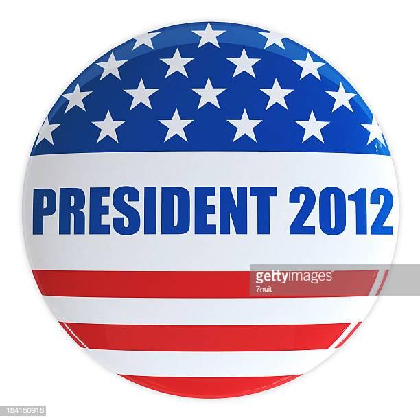 Bouton Président 2012