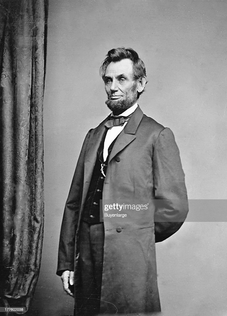 President <a gi-track='captionPersonalityLinkClicked' href=/galleries/search?phrase=Abraham+Lincoln&family=editorial&specificpeople=67201 ng-click='$event.stopPropagation()'>Abraham Lincoln</a>.