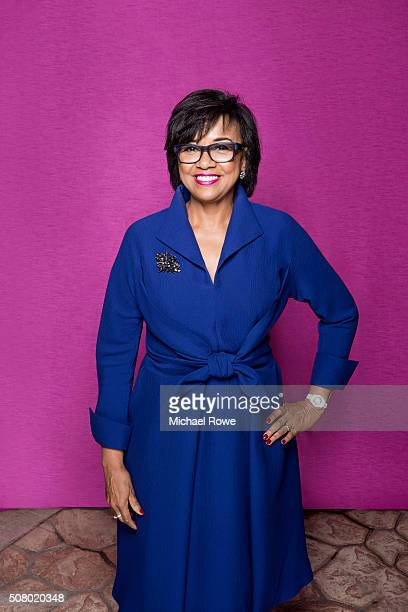 President Academy of Motion Picture Arts and Sciences Cheryl Boone Isaacs is photographed for Essencecom on February 1 2014 in New York City