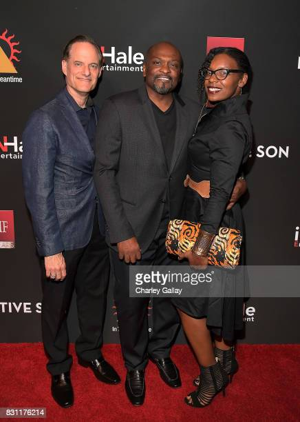 President AIDS Healthcare Foundation Michael Weinstein Founder In The Meantime Men's Group Jeffrey C King and AIDS Healthcare Foundation's Samantha...