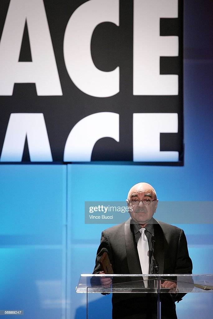 E President Alan Heim speaks onstage during the 56th Annual ACE Eddie Awards held at the Beverly Hilton Hotel on February 19 2006 in Beverly Hills...