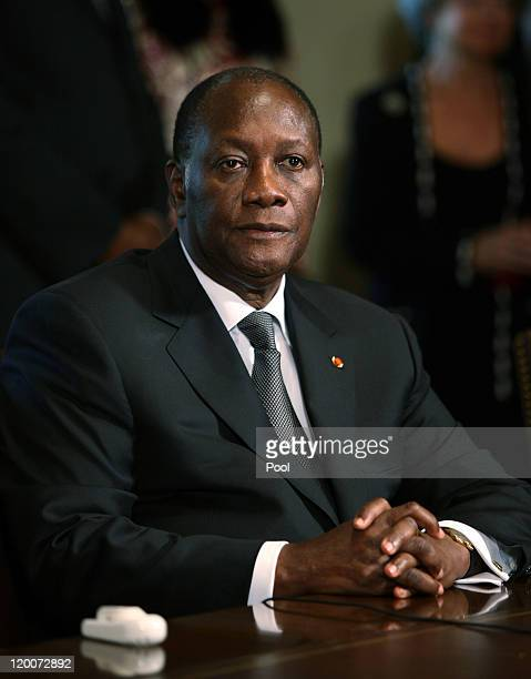 Alassane Ouattara Stock Photos and Pictures | Getty Images