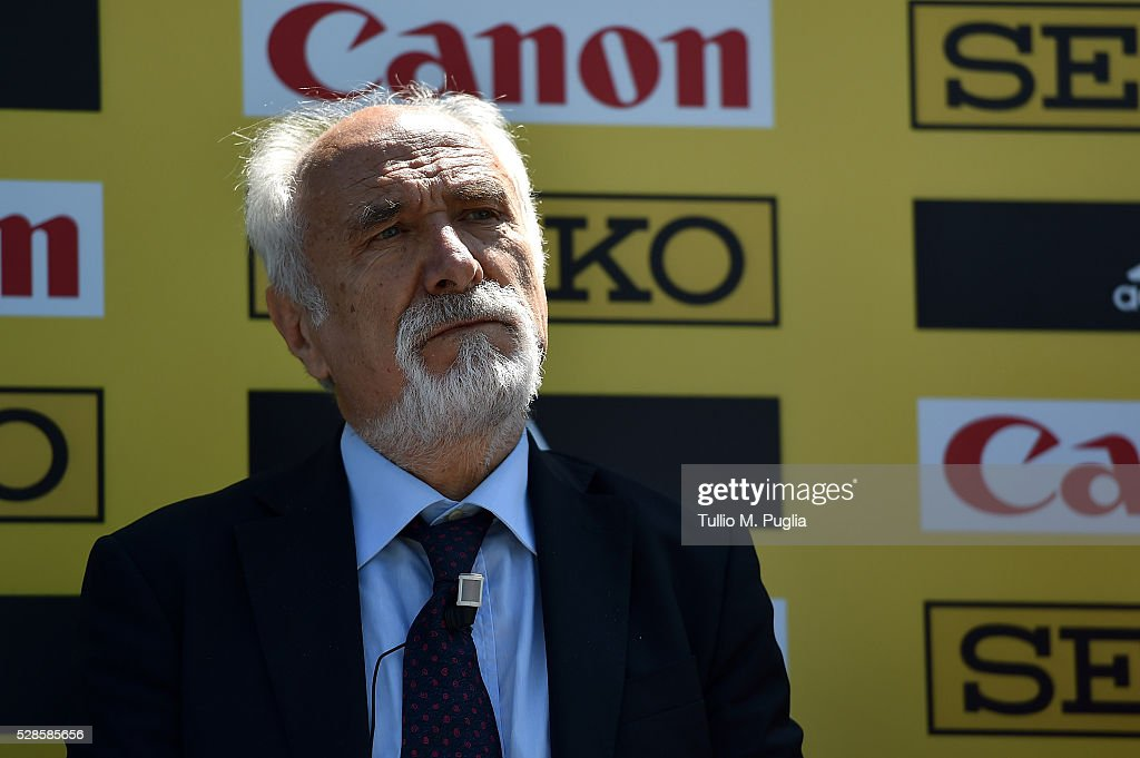 President Alfio Giomi attends the IAAF - Roma 2016 press conference at Sheraton Parco dei Principi hotel on May 6, 2016 in Rome, Italy.