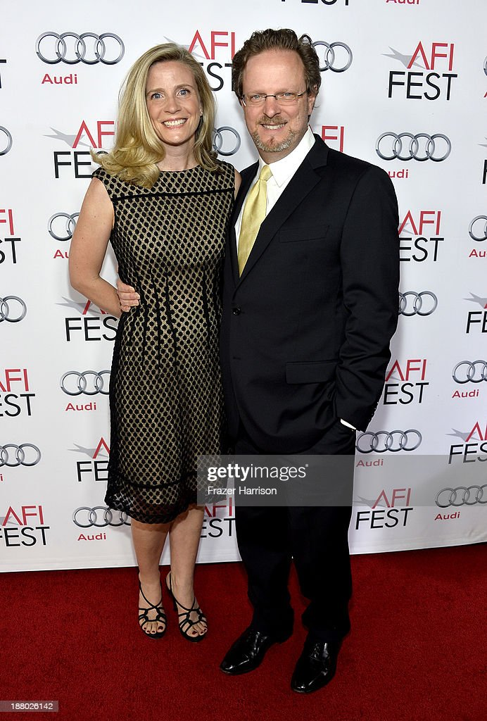 President and CEO Bob Gazzale and Mimi Gazzale attend the AFI FEST 2013 presented by Audi closing night gala screening of 'Inside Llewyn Davis' at TCL Chinese Theatre on November 14, 2013 in Hollywood, California.