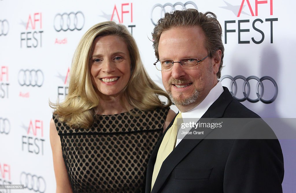 President and CEO Bob Gazzale (R) and Mimi Gazzale attend the 'Inside Llewyn Davis' Gala Screening during AFI FEST 2013 presented by Audi at TCL Chinese Theatre on November 14, 2013 in Hollywood, California.