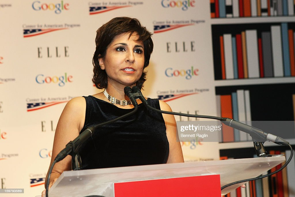 President and CEO, Center for American Progress, Co-Host of Brunch Neera Tanden attends a celebration for leading women in Washington hosted by GOOGLE, ELLE, and The Center for American Progress on January 20, 2013 in Washington, United States.