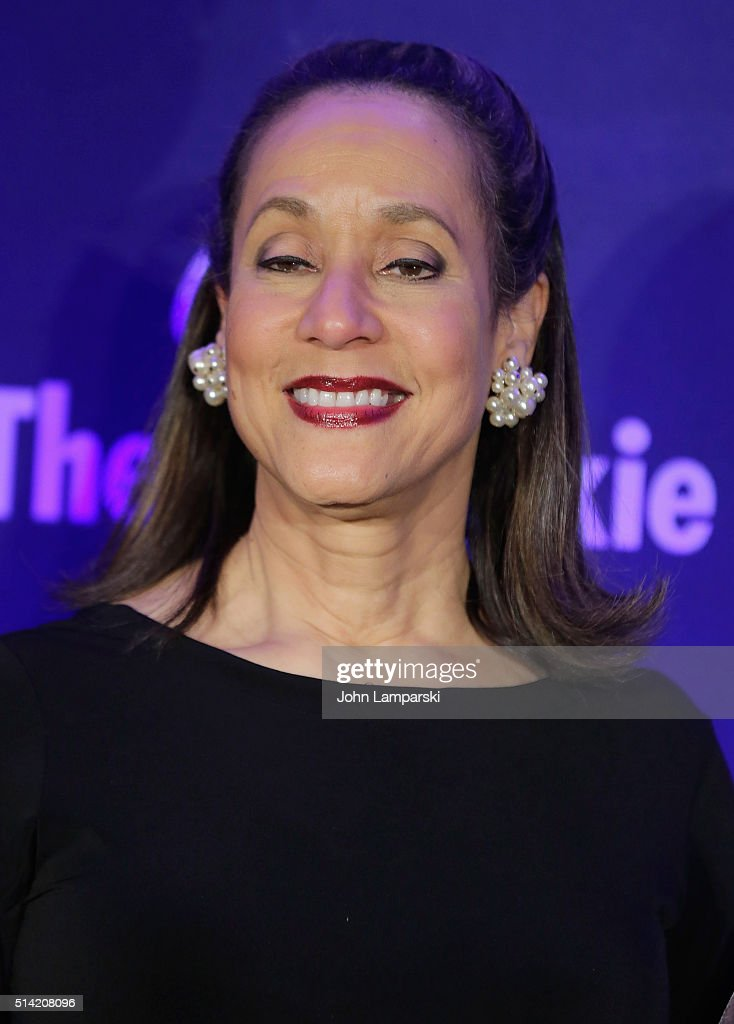President and CEO Della Britton Baeza attends 2016 Jackie Robinson Foundation Awards Dinner at Marriott Marquis Broadway Ballroom on March 7 2016 in...