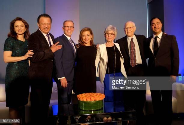President and CEO Domenika Lynch comedian Paul Rodriguez actor Tony Plana actress Justina Machado actress Rita Moreno writer Norman Lear and...