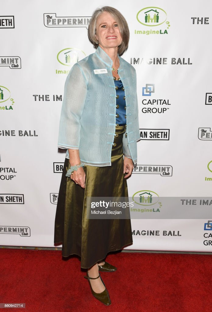 President and CEO Imagine LA Jill Bauman arrives at The Imagine Ball 2017 on October 12, 2017 in West Hollywood, California.