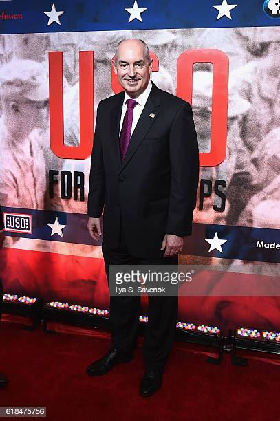 President and CEO JD Crouch II attend the USO For the Troops Screening on The Intrepid Museum October 26 2016 in New York City