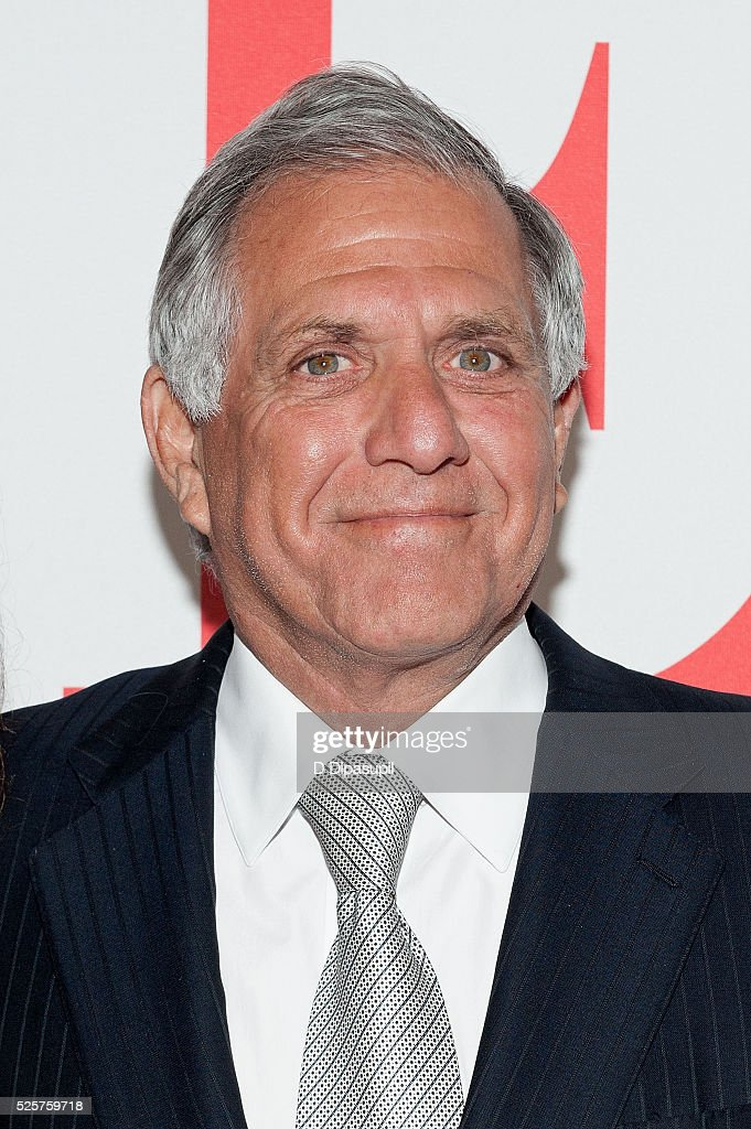 CBS president and CEO Leslie Moonves attends 'The Good Wife' Finale Party at the Museum of Modern Art on April 28 2016 in New York City