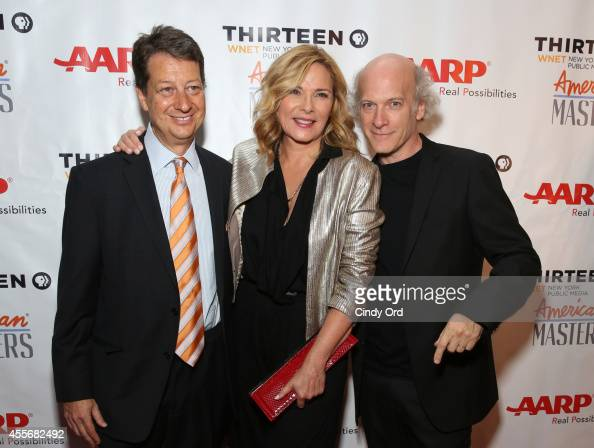 WNET president and CEO Neal Shapiro actress Kim Cattrall and Director/photographer Timothy GreenfieldSanders attend American Masters The Boomer List...