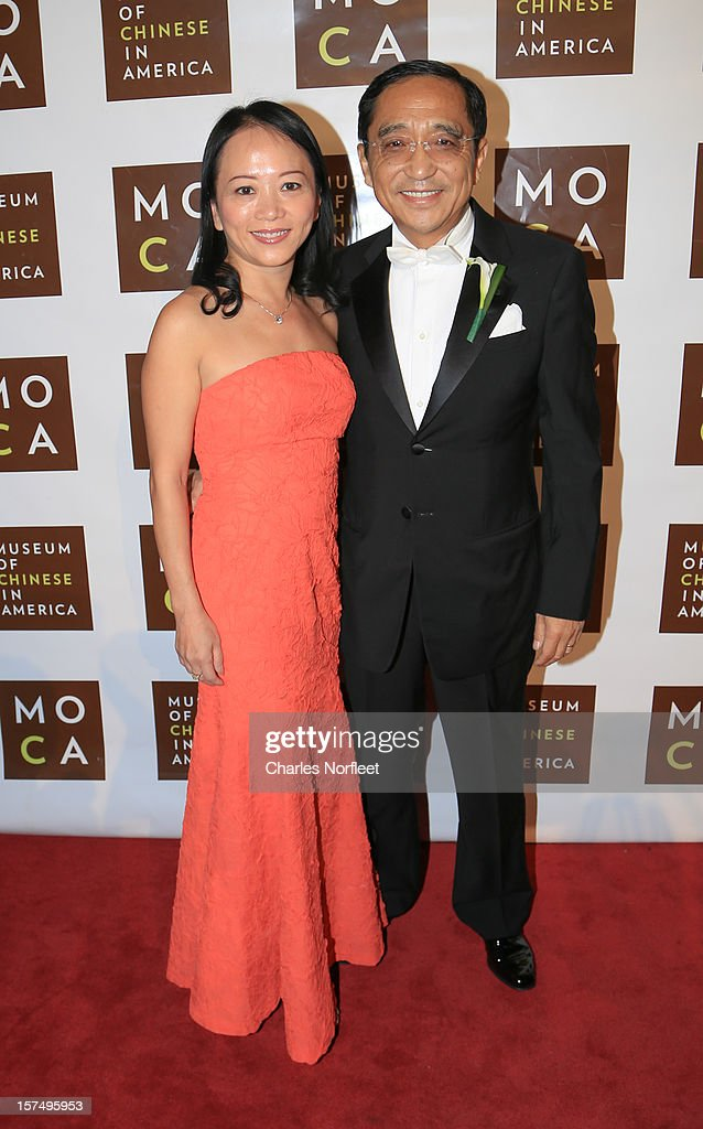 President and CEO Novel Holdings Group Silas Chou attends the Museum of Chinese in America's Annual Legacy awards dinner at Cipriani Wall Street on December 3, 2012 in New York City.