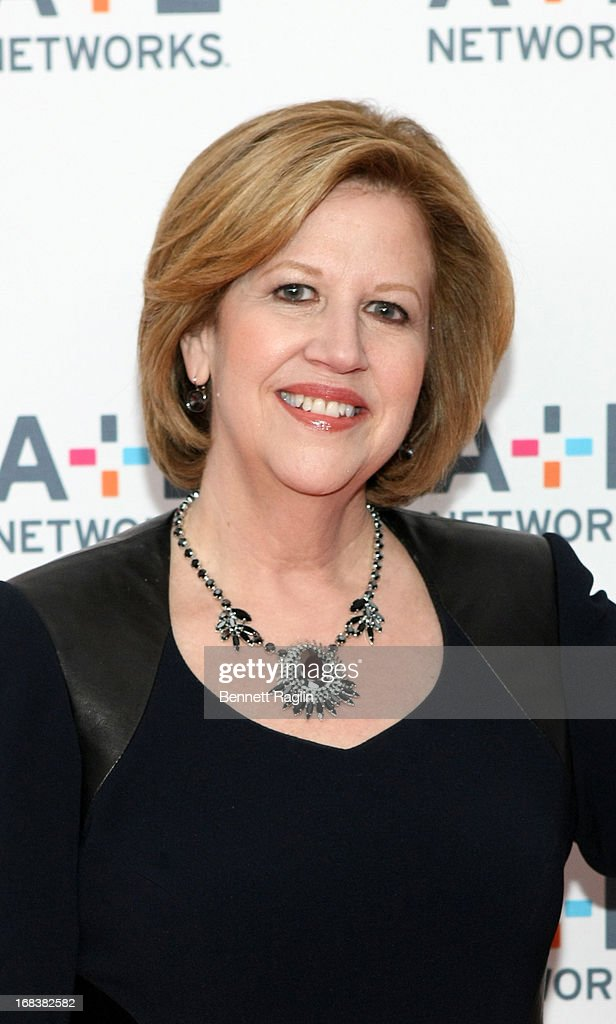 President and CEO of A+E Networks Abbe Raven attends the 2013 A+E Networks Upfront at Lincoln Center on May 8, 2013 in New York City.