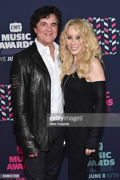 President and CEO of Big Machine Record Label Scott Borchetta and SVP Creative of Big Machine Record Label Sandi Borchetta attends the 2016 CMT Music...