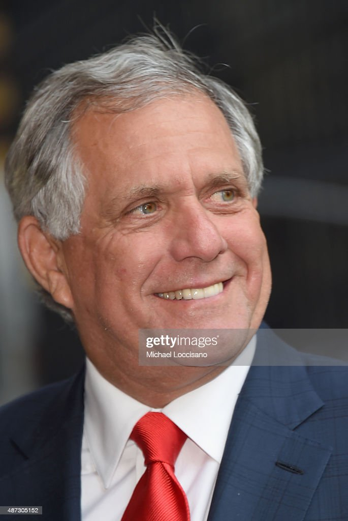 President and CEO of CBS Corporation Les Moonves attends the first taping of 'The Late Show With Stephen Colbert' on September 8 2015 in New York City