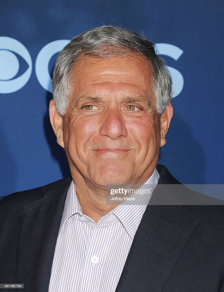 President and CEO of CBS Corporation Leslie Moonves attends the Premiere Of CBS Films' 'Extant' at California Science Center on June 16 2014 in Los...