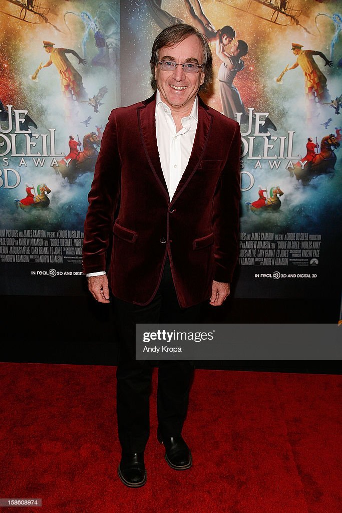 President and CEO of Cirque Du Soleil Daniel Lamarre attends 'Cirque Du Soleil: Worlds Away' New York Special Screening at Regal E-Walk on December 20, 2012 in New York City.