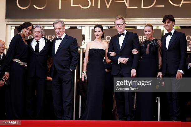President and CEO of Gucci Patrizio di Marc Creative director of Gucci Frida Giannini actor Paul Bettany Jennifer Connelly James Woods Robert De Niro...