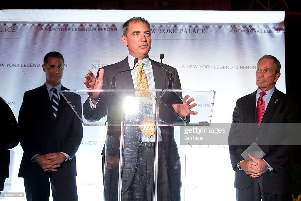 President and CEO of Northwood Investors John Kukral attends the New York Palace's unveiling celebration on September 17, 2013 in New York City.