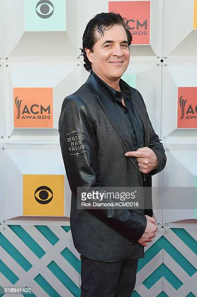 President and CEO of the Big Machine Label Group Scott Borchetta attends the 51st Academy of Country Music Awards at MGM Grand Garden Arena on April...