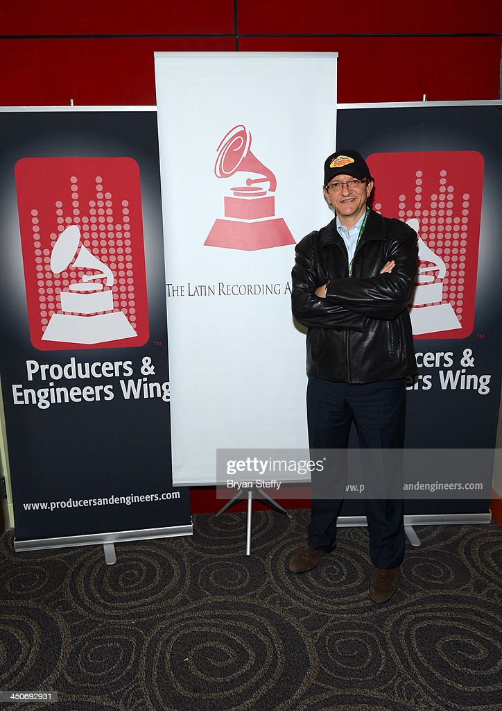 President and CEO of the Latin Recording Academy <a gi-track='captionPersonalityLinkClicked' href=/galleries/search?phrase=Gabriel+Abaroa&family=editorial&specificpeople=691921 ng-click='$event.stopPropagation()'>Gabriel Abaroa</a> attends the P&E Wing Latin GRAMMY Celebration during the 14th annual Latin GRAMMY Awards on November 19, 2013 at the Palms Casino Resort in Las Vegas, Nevada.
