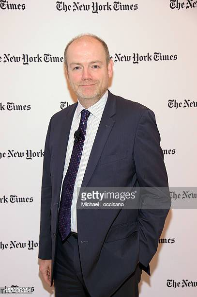 President and CEO of the New York Times Company Mark Thompson attends The New York Times 2014 Schools For Tomorrow Conference at TheTimesCenter on...