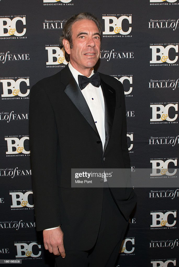 President and CEO of the NFL Network and National Football League's Executive-Vice President of Media Steve Bornstein attends the Broadcasting and Cable 23rd Annual Hall of Fame Awards Dinner at The Waldorf Astoria on October 28, 2013 in New York City.