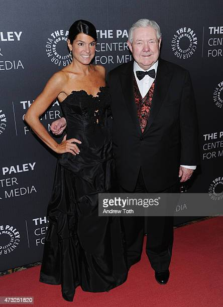 President and CEO of The Paley Center For Media Maureen J Reidy and Executive Vice Chairman of Hearst Corporation and Chairman of The Paley Center...