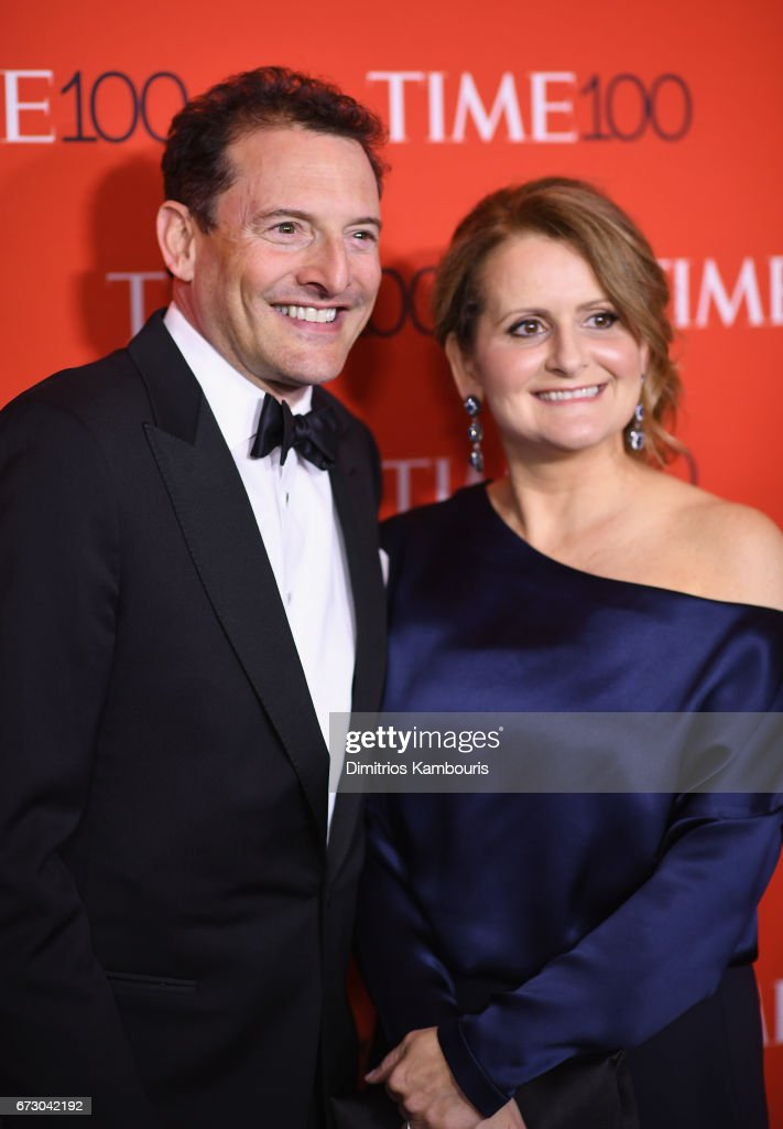 President and CEO of Time, Inc Rich Battista (L) and Brenda Battista attend the 2017 Time 100 Gala at Jazz at Lincoln Center on April 25, 2017 in New York City.