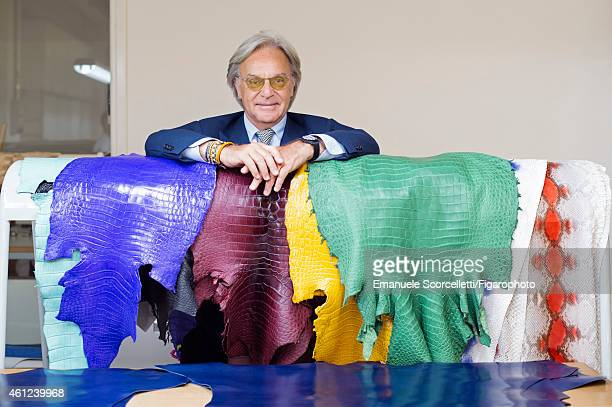 FIGARO ID 111370024 President and CEO of Tod's Diego Della Valle is photographed for Le Figaro Magazine on July 29 2014 in Casette d'Ete Italy CREDIT...