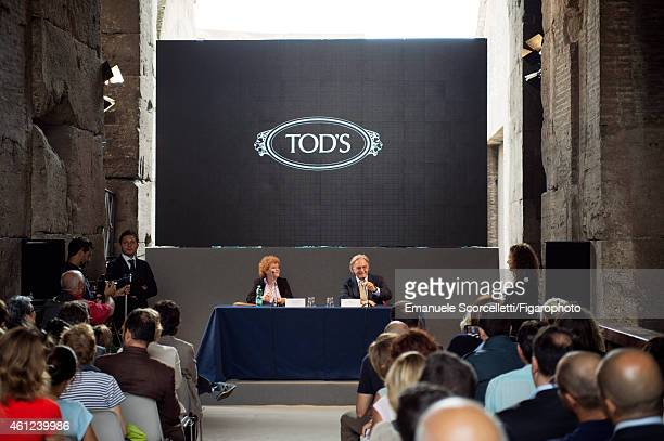 FIGARO ID 111370037 President and CEO of Tod's Diego Della Valle is photographed for Le Figaro Magazine on July 29 2014 in Rome Italy Della Valle is...