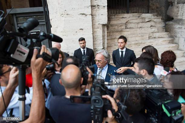 FIGARO ID 111370039 President and CEO of Tod's Diego Della Valle is photographed for Le Figaro Magazine on July 29 2014 in Rome Italy Della Valle is...