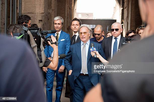 FIGARO ID 111370038 President and CEO of Tod's Diego Della Valle is photographed for Le Figaro Magazine on July 29 2014 in Rome Italy Della Valle is...