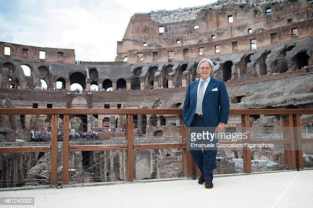 FIGARO ID 111370041 President and CEO of Tod's Diego Della Valle is photographed for Le Figaro Magazine on July 29 2014 in Rome Italy Della Valle is...
