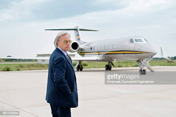 FIGARO ID 111370040 President and CEO of Tod's Diego Della Valle is photographed for Le Figaro Magazine on July 29 2014 in Rome Italy PUBLISHED IMAGE...