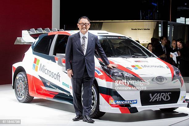 Akio Toyoda Stock Photos And Pictures Getty Images