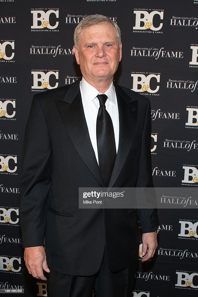 President and CEO of Univision Communications Inc. Randy Falco attends the Broadcasting and Cable 23rd Annual Hall of Fame Awards Dinner at The Waldorf Astoria on October 28, 2013 in New York City.