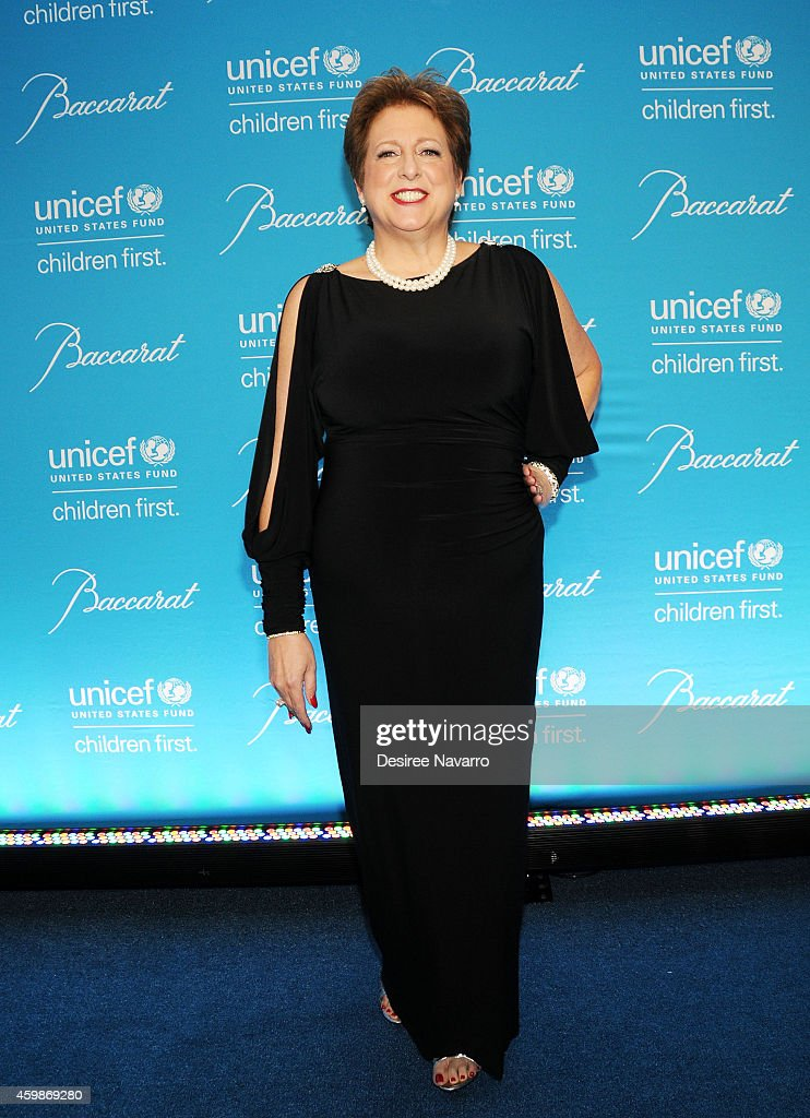 President and CEO of U.S. Fund for UNICEF Caryl Stern attends the 10th Annual Unicef Snowflake Ball at Cipriani Wall Street on December 2, 2014 in New York City.