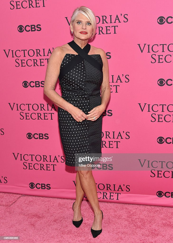 President and CEO of Victoria's Secret Sharen Jester Turney attends the 2015 Victoria's Secret Fashion Show at Lexington Avenue Armory on November 10...
