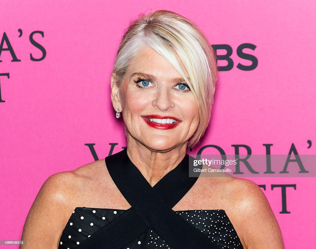 President and CEO of Victoria's Secret Sharen Jester Turney attends 2015 Victoria's Secret Fashion Show at Lexington Armory on November 10 2015 in...