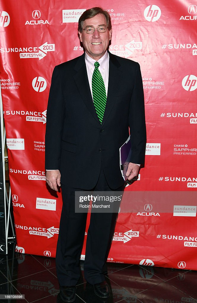 President and CEO of Zions Bank Scott Anderson attends 'The Crash Reel' Premiere at Rose Wagner Performing Arts Center on January 18, 2013 in Salt Lake City, Utah.
