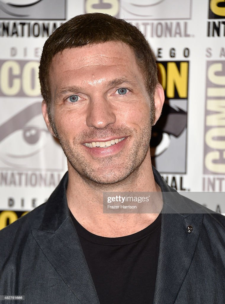 LAIKA president and CEO <a gi-track='captionPersonalityLinkClicked' href=/galleries/search?phrase=Travis+Knight+-+Animator&family=editorial&specificpeople=13871692 ng-click='$event.stopPropagation()'>Travis Knight</a> attends 'The Boxtrolls' Press Line during Comic-Con International 2014 at Hilton Bayfront on July 26, 2014 in San Diego, California.