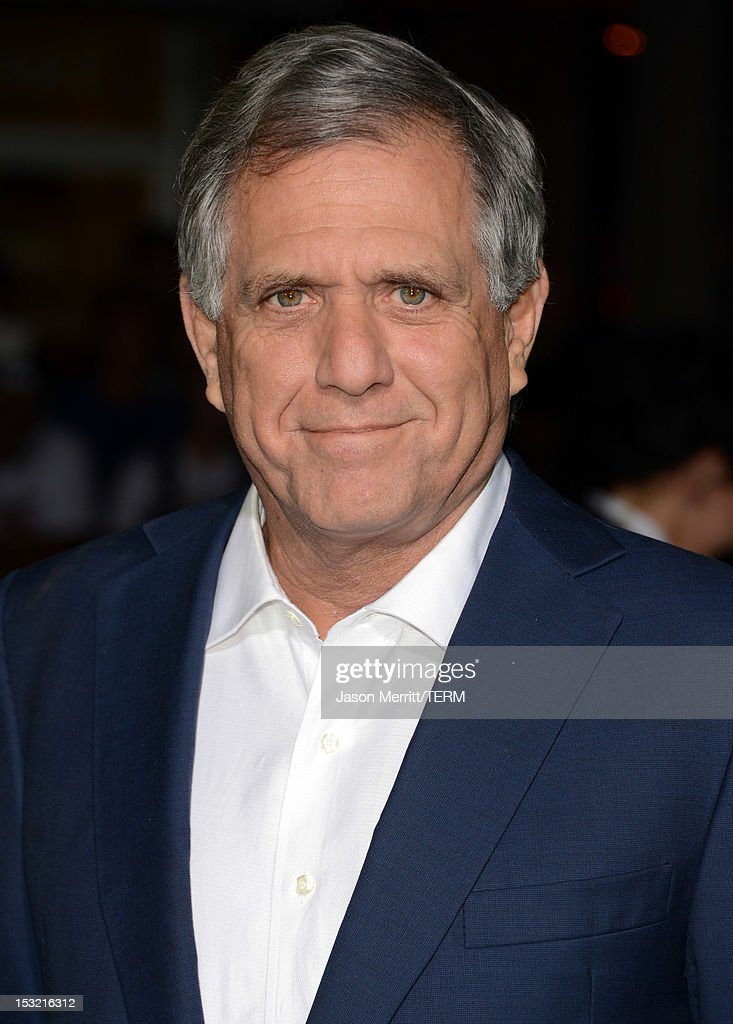 President and Chief Executive Officer of CBS Corporation <a gi-track='captionPersonalityLinkClicked' href=/galleries/search?phrase=Les+Moonves&family=editorial&specificpeople=210763 ng-click='$event.stopPropagation()'>Les Moonves</a> arrives at the premiere of CBS Films' 'Seven Psychopaths' at Mann Bruin Theatre on October 1, 2012 in Westwood, California.
